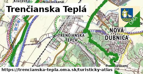 ikona Turistická mapa turisticky-atlas  trencianska-tepla