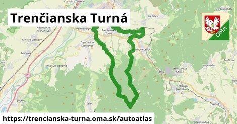ikona Mapa autoatlas  trencianska-turna