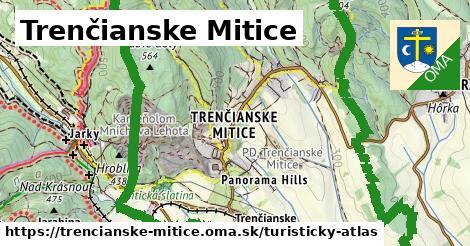 ikona Turistická mapa turisticky-atlas  trencianske-mitice