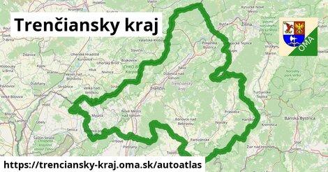 ikona Mapa autoatlas  trenciansky-kraj