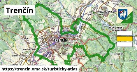 ikona Turistická mapa turisticky-atlas  trencin