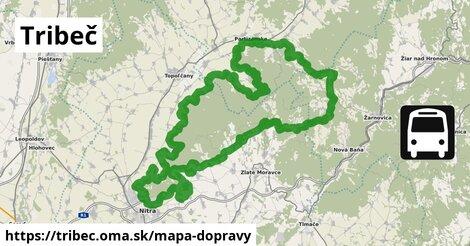 ikona Mapa dopravy mapa-dopravy  tribec
