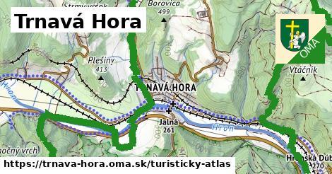 ikona Turistická mapa turisticky-atlas  trnava-hora