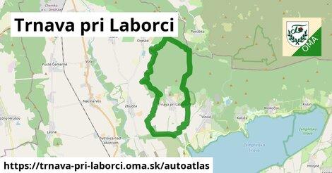 ikona Mapa autoatlas  trnava-pri-laborci
