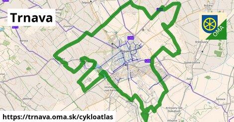 ikona Trnava: 21km trás cykloatlas  trnava