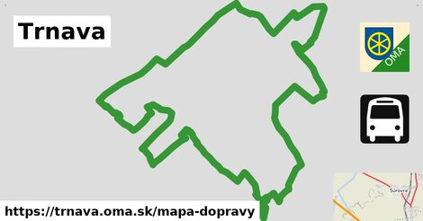 ikona Mapa dopravy mapa-dopravy  trnava
