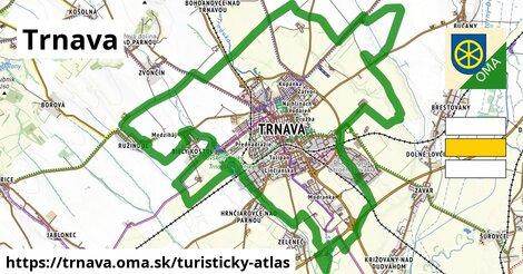 ikona Turistická mapa turisticky-atlas  trnava