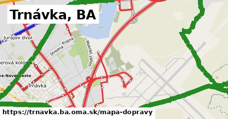 ikona Trnávka, BA: 313km trás mapa-dopravy  trnavka.ba
