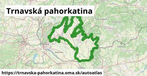 ikona Mapa autoatlas  trnavska-pahorkatina