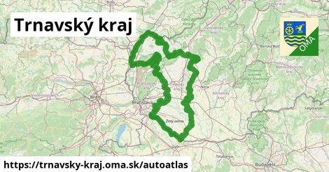 ikona Mapa autoatlas  trnavsky-kraj