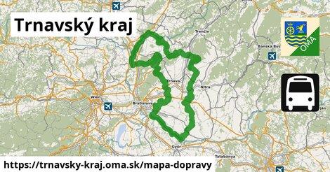 ikona Trnavský kraj: 1228km trás mapa-dopravy  trnavsky-kraj