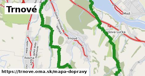 ikona Mapa dopravy mapa-dopravy v trnove