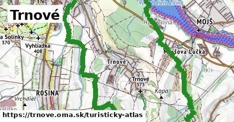 ikona Turistická mapa turisticky-atlas v trnove