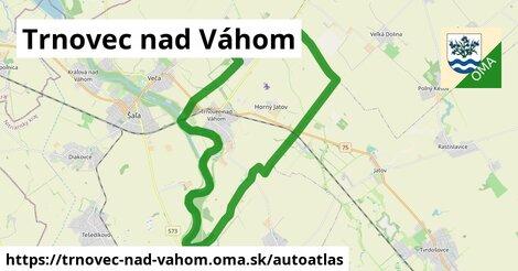 ikona Mapa autoatlas  trnovec-nad-vahom