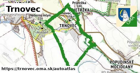 ikona Mapa autoatlas  trnovec