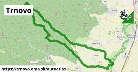 ikona Mapa autoatlas  trnovo