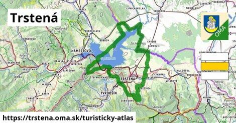 ikona Trstená: 33km trás turisticky-atlas  trstena