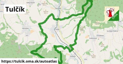 ikona Mapa autoatlas  tulcik