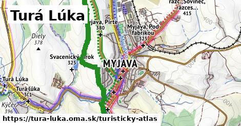 ikona Turá Lúka: 21km trás turisticky-atlas  tura-luka
