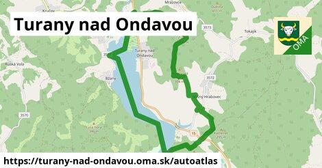 ikona Mapa autoatlas  turany-nad-ondavou