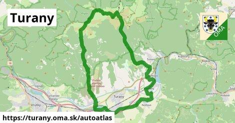 ikona Mapa autoatlas  turany