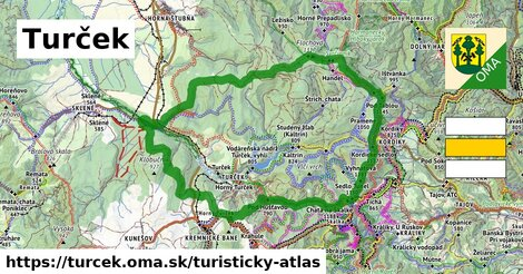 ikona Turistická mapa turisticky-atlas  turcek