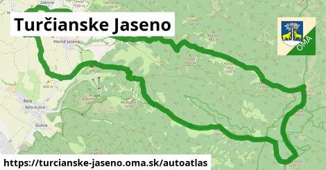 ikona Mapa autoatlas  turcianske-jaseno