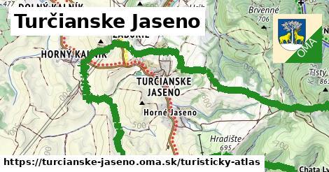 ikona Turistická mapa turisticky-atlas  turcianske-jaseno