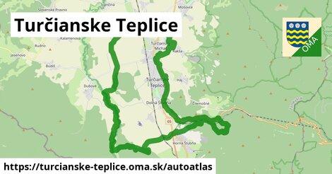 ikona Mapa autoatlas  turcianske-teplice