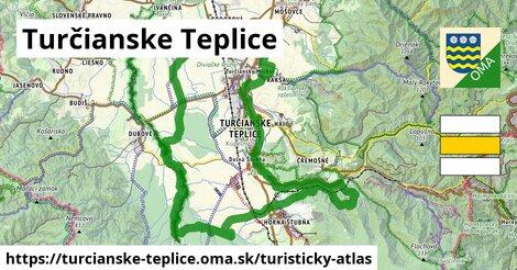 ikona Turistická mapa turisticky-atlas  turcianske-teplice