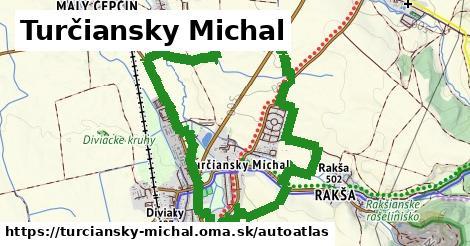 ikona Mapa autoatlas  turciansky-michal