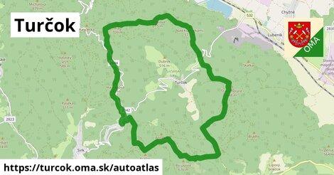 ikona Mapa autoatlas  turcok