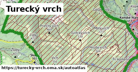 ikona Mapa autoatlas  turecky-vrch