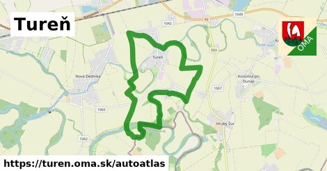 ikona Mapa autoatlas  turen