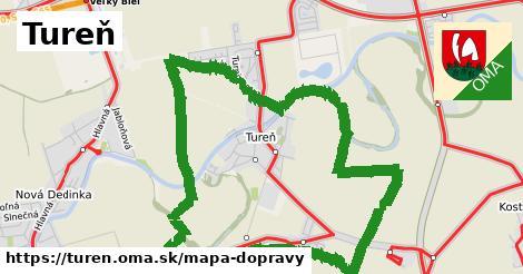 ikona Mapa dopravy mapa-dopravy  turen