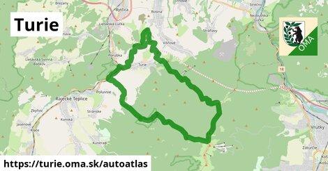 ikona Mapa autoatlas  turie