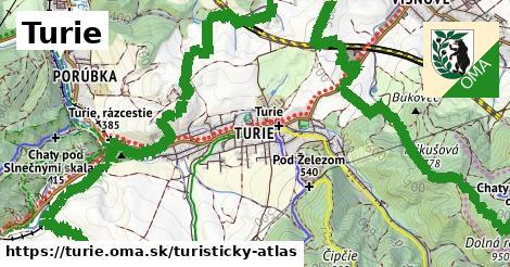 ikona Turistická mapa turisticky-atlas  turie