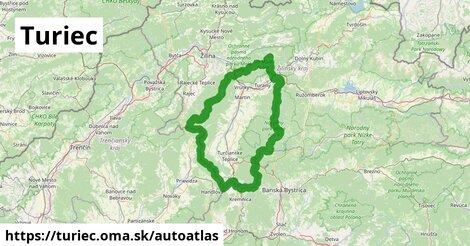 ikona Mapa autoatlas  turiec