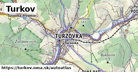 ikona Mapa autoatlas  turkov