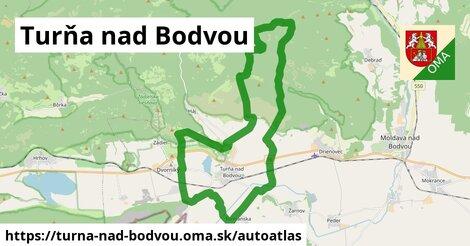 ikona Mapa autoatlas  turna-nad-bodvou