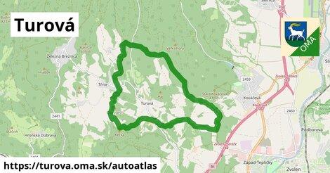 ikona Mapa autoatlas  turova
