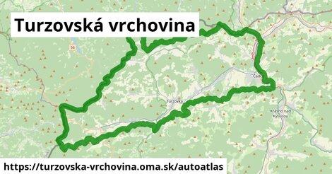 ikona Mapa autoatlas  turzovska-vrchovina