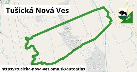 ikona Mapa autoatlas  tusicka-nova-ves