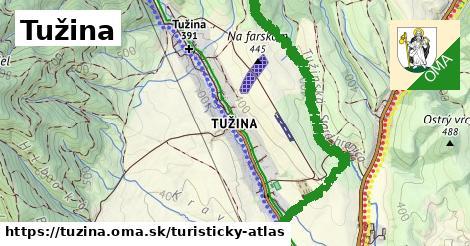 ikona Turistická mapa turisticky-atlas  tuzina