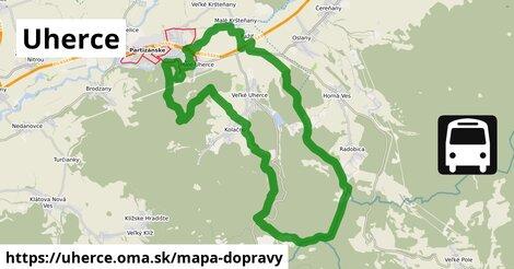 ikona Mapa dopravy mapa-dopravy  uherce