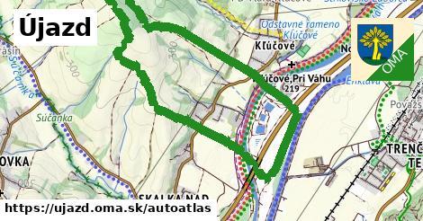 ikona Mapa autoatlas  ujazd