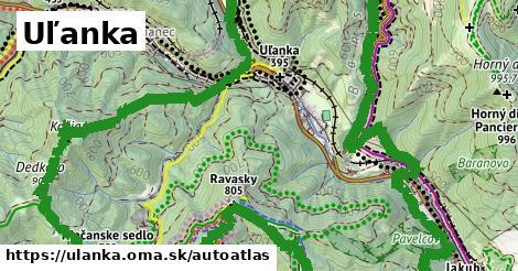 ikona Mapa autoatlas  ulanka