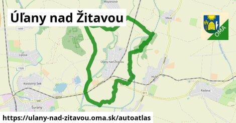 ikona Mapa autoatlas v ulany-nad-zitavou