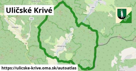 ikona Mapa autoatlas  ulicske-krive