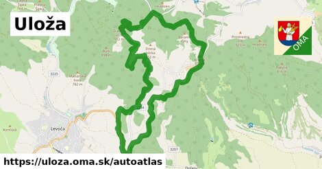 ikona Mapa autoatlas  uloza